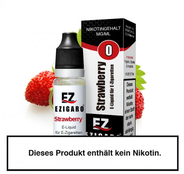 Strawberry - Liquid für E-Zigaretten